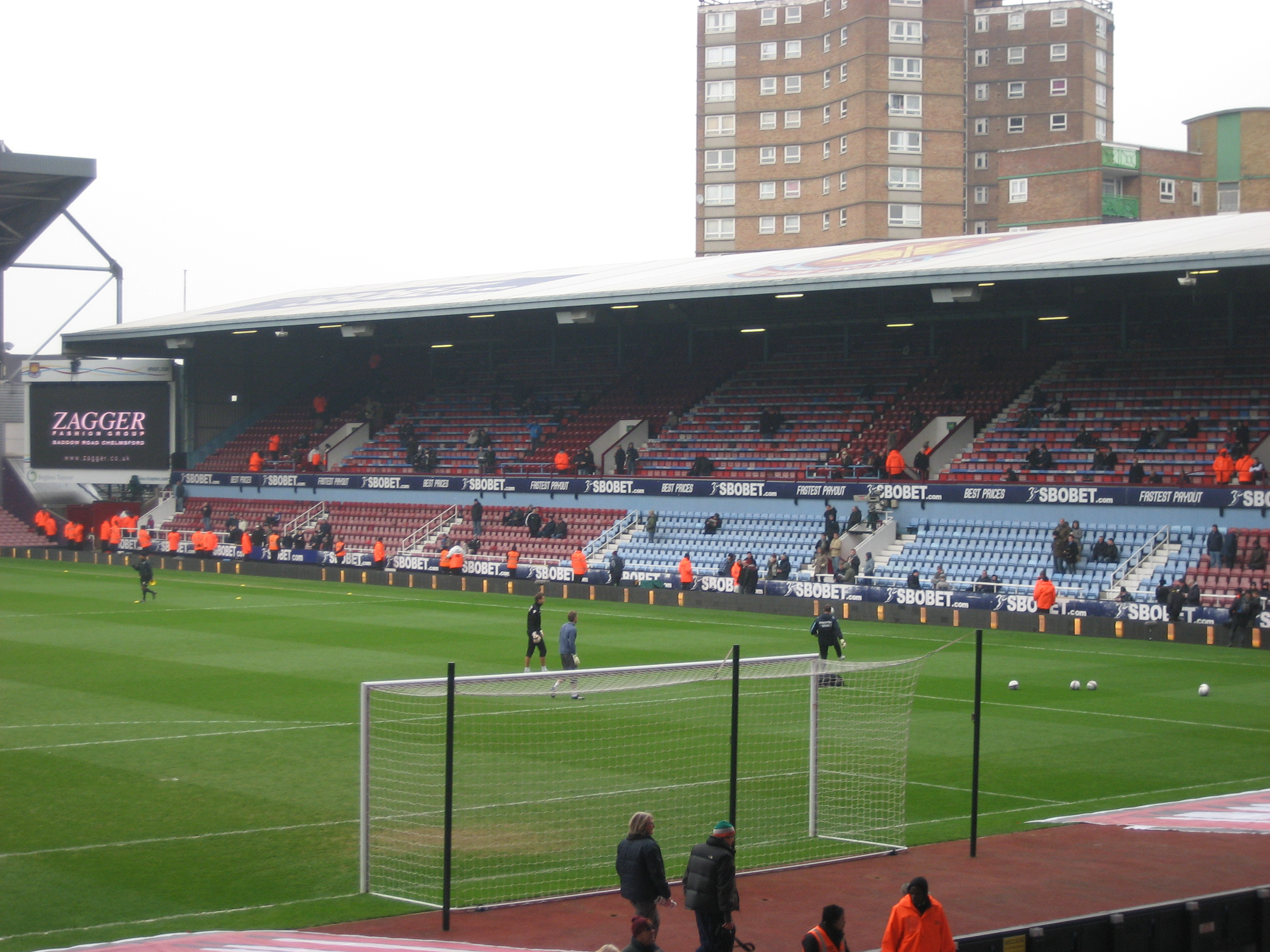 The East Stand, Upton Park