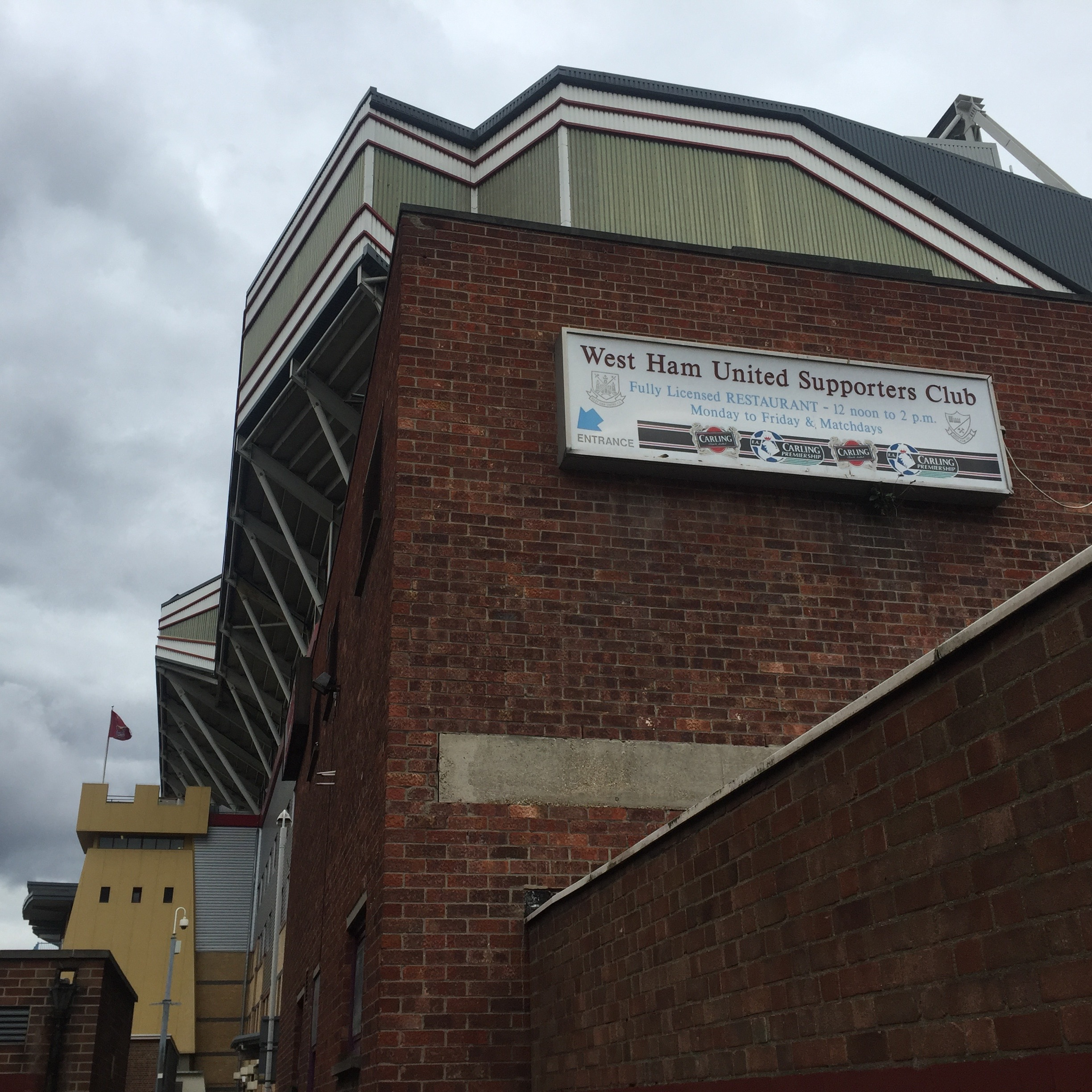 West Ham Supporters Club, Upton Park
