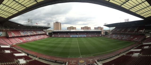 Panoramic view of the stadium