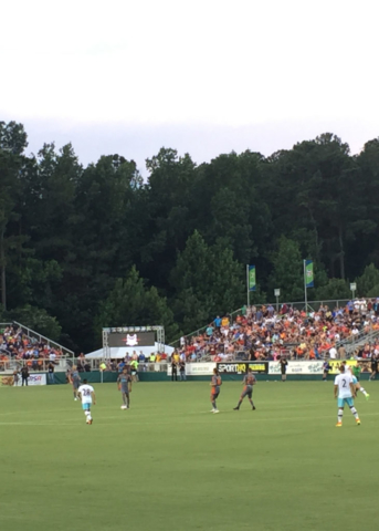 West Ham United v. Carolina Railhawks