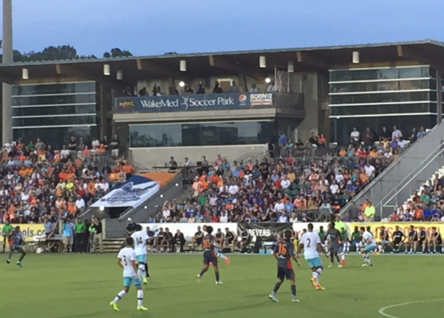 West Ham v. Carolina Railhawks