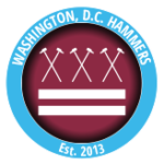 D.C. Hammers Flex Your Head circle logo